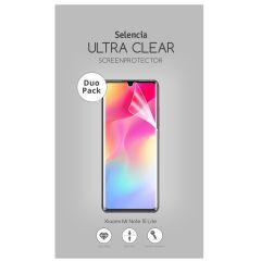 Selencia Duo Pack Ultra Clear Screenprotector Xiaomi Mi Note 10 Lite