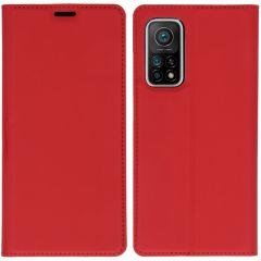 iMoshion Slim Folio Booklet Xiaomi Mi 10T (Pro) - Rot