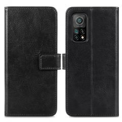 iMoshion Luxuriöse Buchtyp-Hülle Xiaomi Mi 10T (Pro) - Schwarz