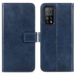 iMoshion Luxuriöse Buchtyp-Hülle Xiaomi Mi 10T (Pro) - Blau
