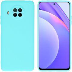 iMoshion Color TPU Hülle für das Xiaomi Mi 10T Lite - Mintrgün