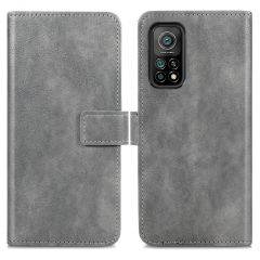 iMoshion Luxuriöse Buchtyp-Hülle Xiaomi Mi 10T (Pro) - Grau
