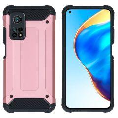 iMoshion Rugged Xtreme Case Xiaomi Mi 10T (Pro) - Roségold