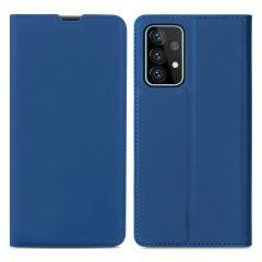 iMoshion Slim Folio Booklet Samsung Galaxy A72 - Dunkelblau