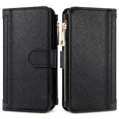 iMoshion Luxuriöse Portemonnaie-Hülle Samsung Galaxy A12 - Schwarz
