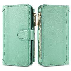 iMoshion Luxuriöse Portemonnaie-Hülle Samsung Galaxy A12 - Grün