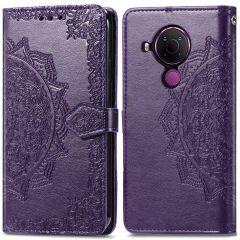 iMoshion Mandala Booktype-Hülle Nokia 5.4 - Violett