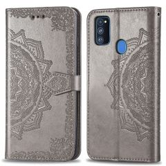 iMoshion Mandala Booktype-Hülle Samsung Galaxy M30s / M21 - Grau