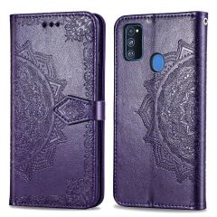 iMoshion Mandala Booktype-Hülle Samsung Galaxy M30s / M21 - Violett