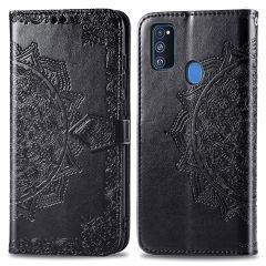 iMoshion Mandala Booktype-Hülle Samsung Galaxy M30s / M21 - Schwarz