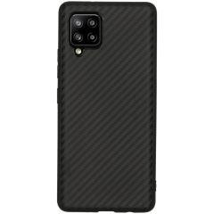 Carbon-Hülle für das Samsung Galaxy A42 - Schwarz
