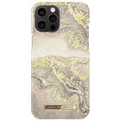 ideal of Sweden Fashion Back Case iPhone 12 Pro Max - Sparkle Greige Marble