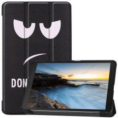 iMoshion Design Trifold Bookcase Samsung Galaxy Tab A 8.0 (2019)
