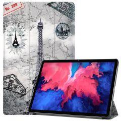 iMoshion Design Trifold Bookcase  Lenovo Tab P11 - Paris