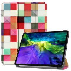 iMoshion Design Trifold Bookcase iPad Pro 11 (2021-2018)
