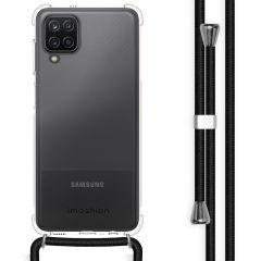 iMoshion Backcover mit Band Samsung Galaxy A12 - Schwarz