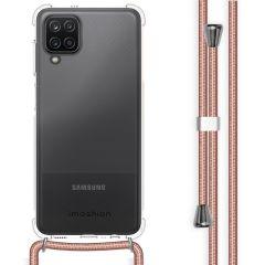 iMoshion Backcover mit Band Samsung Galaxy A12 - Roségold