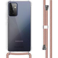 iMoshion Backcover mit Band Samsung Galaxy A72 - Roségold