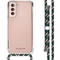 iMoshion Backcover mit Band Samsung Galaxy S21 - Grün