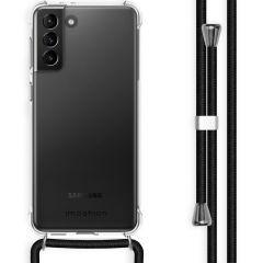 iMoshion Backcover mit Band Samsung Galaxy S21 Plus - Schwarz