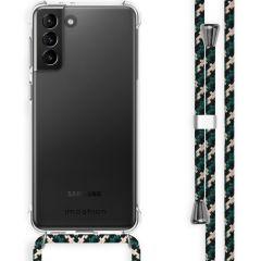 iMoshion Backcover mit Band Samsung Galaxy S21 Plus - Grün