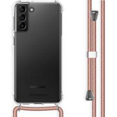 iMoshion Backcover mit Band Samsung Galaxy S21 Plus - Roségold