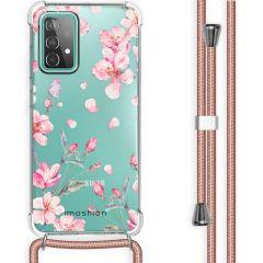iMoshion Design Hülle mit Band Galaxy A52(s) (5G/4G) - Blume