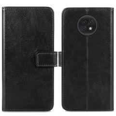 iMoshion Luxuriöse Buchtyp-Hülle Xiaomi Redmi Note 9T (5G) - Schwarz