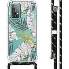 iMoshion Design Hülle mit Band Galaxy A52(s) (5G/4G) - Blätter