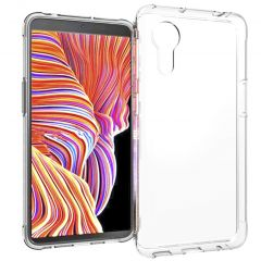 Accezz TPU Clear Cover Samsung Galaxy Xcover 5 - Transparent