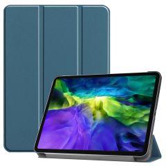 iMoshion Trifold Bookcase iPad Pro 11 (2020-2018) - Dunkelgrün