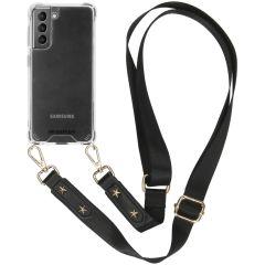 iMoshion Backcover mit Band Transparent für Samsung Galaxy S21 Plus