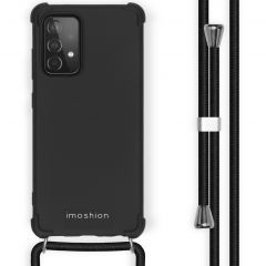 iMoshion Color Backcover mit Band Galaxy A52(s) (5G/4G) -Schwarz