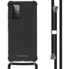 iMoshion Color Backcover mit Band Samsung Galaxy A72 - Schwarz