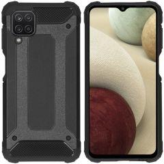 iMoshion Rugged Xtreme Case Samsung Galaxy A12 - Schwarz