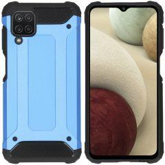 iMoshion Rugged Xtreme Case Samsung Galaxy A12 - Hellblau