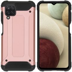 iMoshion Rugged Xtreme Case Samsung Galaxy A12 - Roségold