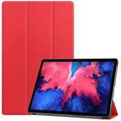 iMoshion Trifold Bookcase Lenovo Tab P11 - Rot