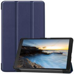 iMoshion Trifold Bookcase Galaxy Tab A 8.0 (2019) - Dunkelblau