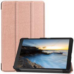 iMoshion Trifold Bookcase Galaxy Tab A 8.0 (2019) - Rosegold