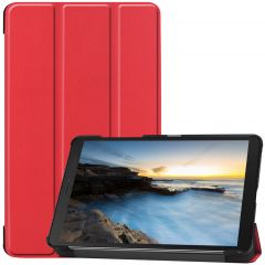 iMoshion Trifold Bookcase Galaxy Tab A 8.0 (2019) - Rot