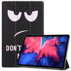 iMoshion Design Trifold Bookcase  Lenovo Tab P11 - Don't touch
