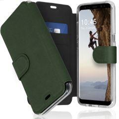 Accezz Xtreme Wallet für das Samsung Galaxy S8 - Dunkelgrün