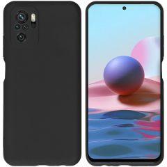 iMoshion Color TPU Hülle Xiaomi Redmi Note 10 Pro - Schwarz