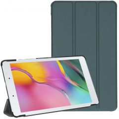 iMoshion Trifold Bookcase Galaxy Tab A 8.0 (2019) - Dunkelgrün