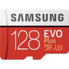 Samsung 128GB EVO Plus microSDXC Speicherkarte Klasse 10 + Adapter