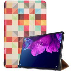 iMoshion Design Trifold Bookcase  Lenovo Tab P11 - Various Colors