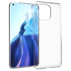 Accezz TPU Clear Cover Xiaomi Mi 11 - Transparent