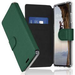 Accezz Xtreme Wallet für das iPhone Xs / X - Dunkelgrün
