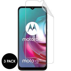 iMoshion Displayschutz Folie 3-Pack Motorola Moto G30 / G20 / G10 (Power) / E7i Power
